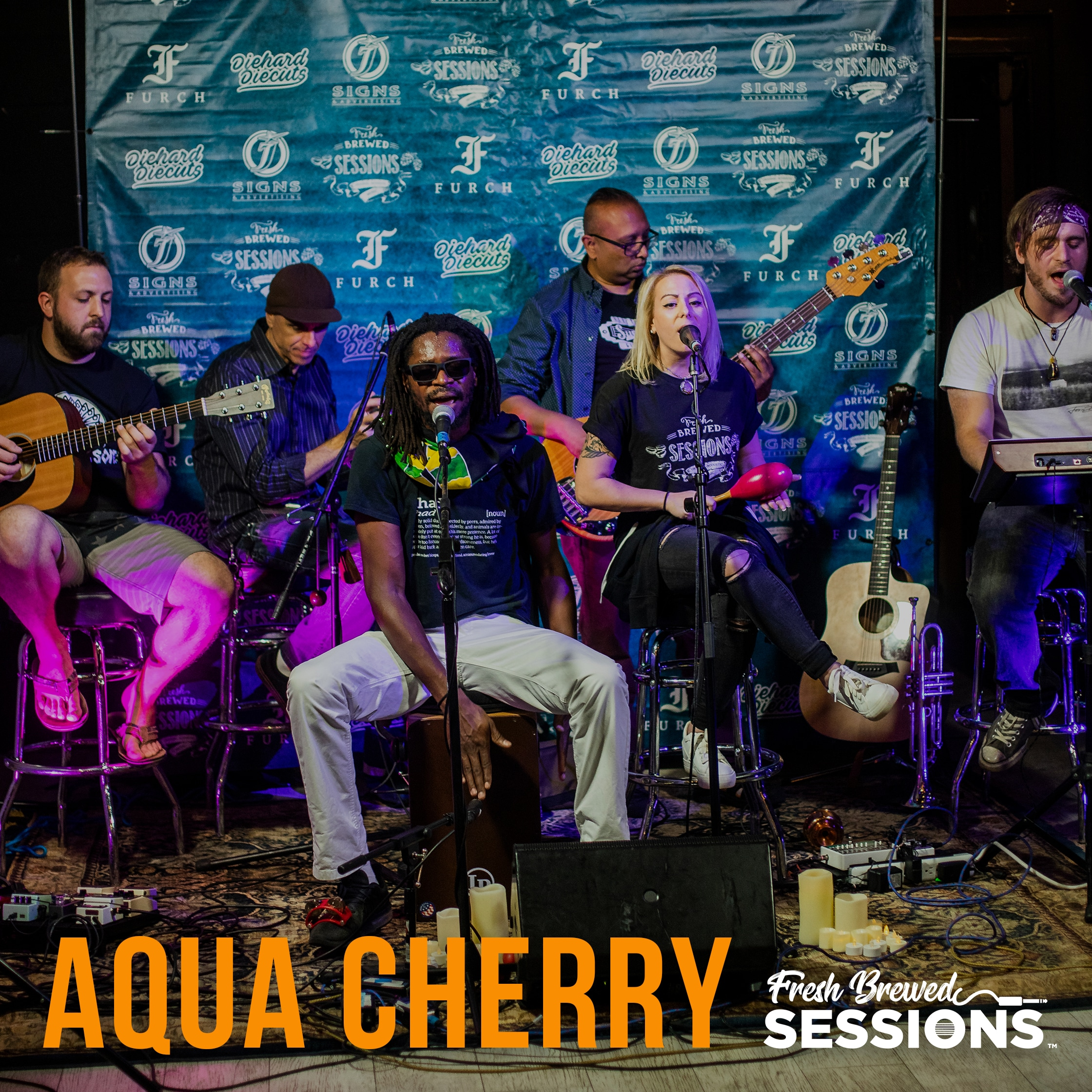 Fresh Brewed Sessions | Aqua Cherry